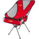 LEKI Chiller Campingstol rød/sort